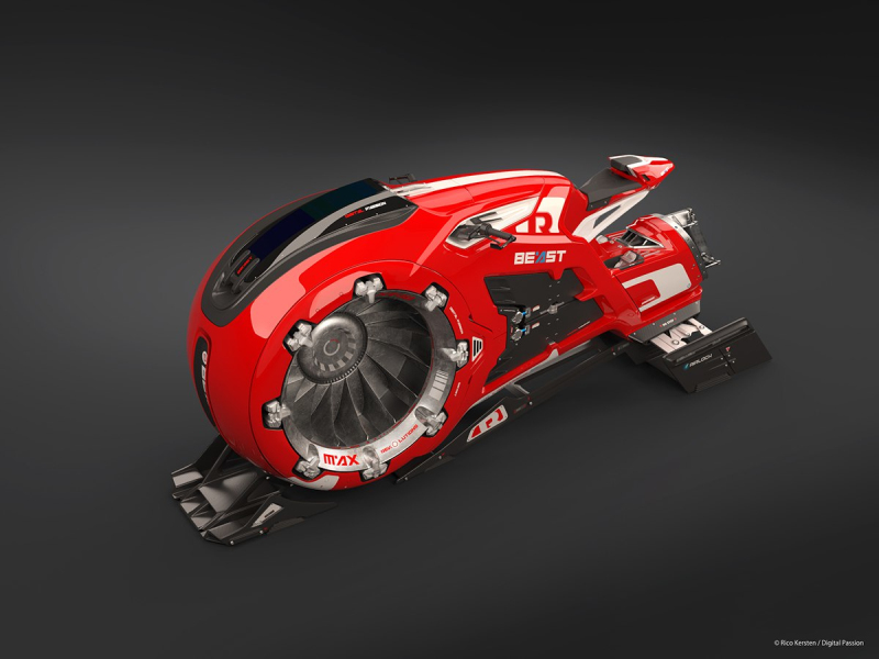 jet bike of the future