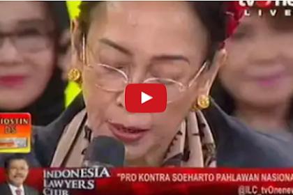 Video Heboh, di ILC Sukmawati Sebut Soeharto Penghianat Bangsa, Pembunuh Pahlawan Revolusi, TNI & Presiden Soekarno