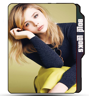 Blonde girl folder icon, Chloe Grace Moretz, Actress icons, Celebrity icons, Hollywood girl icon, Bold look girl, girl icons.