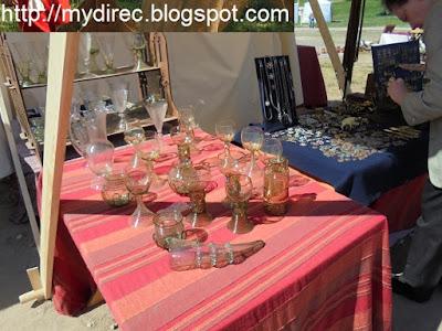 Фестиваль Древний Рим - сувениры из стекла