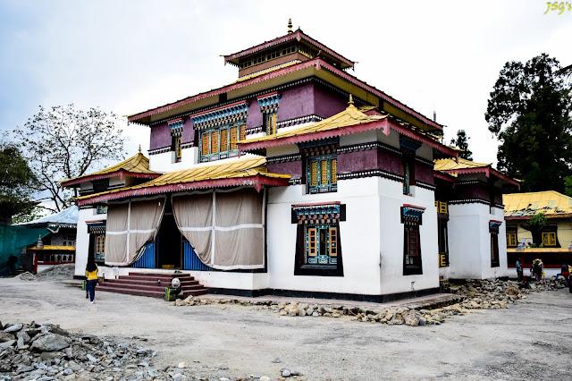 Enchey Monastery: Photo by Jayashree Sengupta @DoiBedouin