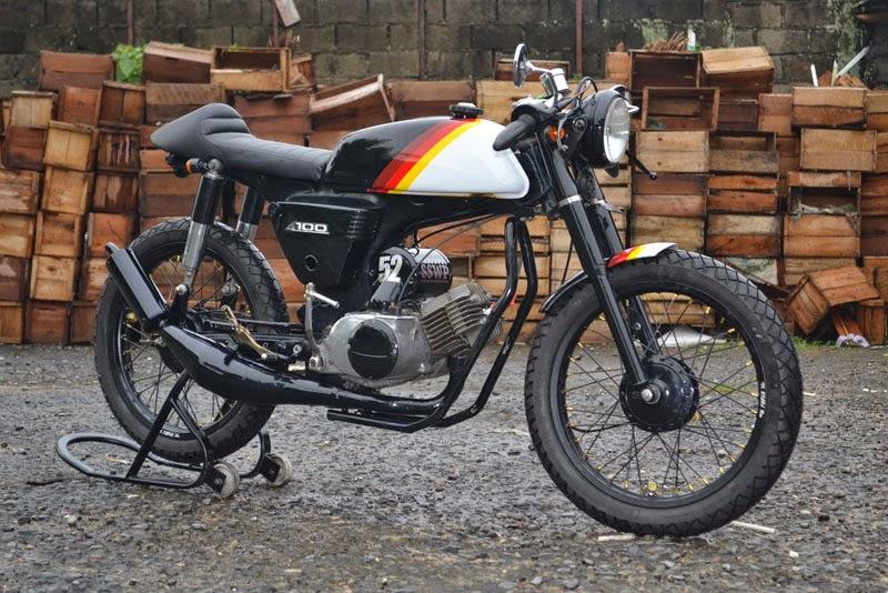 kumpulan foto hasil modifikasi motor suzuki a100 terbaru - otomotiva
