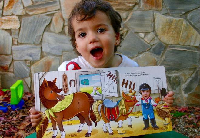 Libro infantil, cuento personalizado Super Prota, la granja