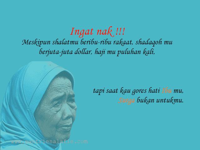 Kumpulan Kata Kata Mutiara Ibu Menyentuh Hati by Santrie Salafie