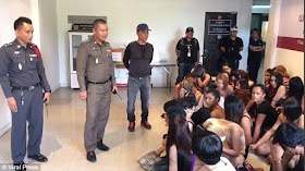 50 Transsexual Prostitutes Arrested By Police In The 'World's Sex Capital. Photos