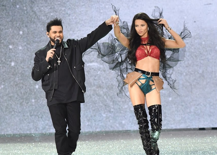 Adriana Lima & The Weeknd, VSFS 2016