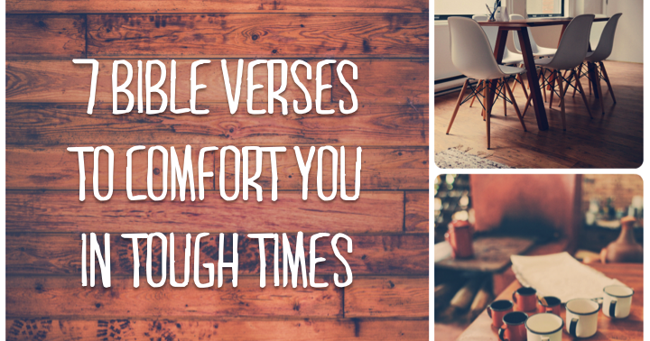 Bible Quotes For Hard Times In Life: 7 Bible Verses To Comfort You In Tough Times