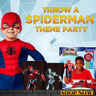 Spiderman Theme Party Supplies & Costumes