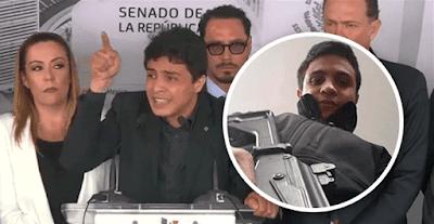 el PAN ingresa al senado de la república mexicana a Gomez Saleh terrorista Venezolano