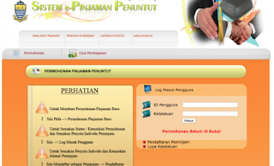 Permohonan Pinjaman Pendidikan Negeri Pulau Pinang 2018 Online