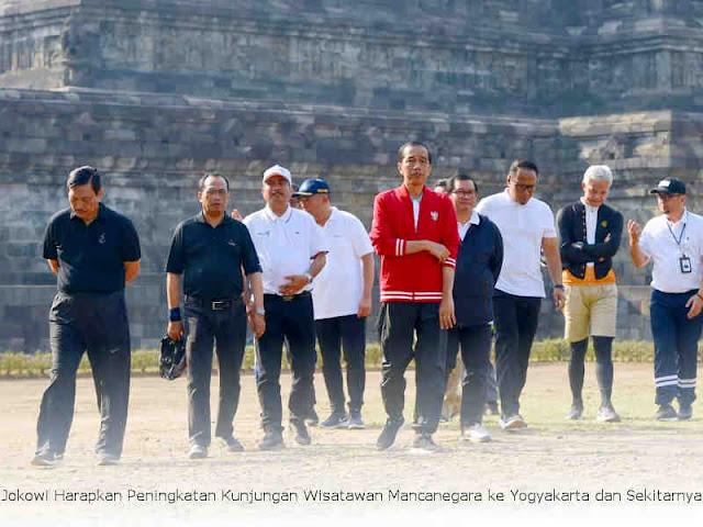 Jokowi Harapkan Peningkatan Kunjungan Wisatawan Mancanegara ke Yogyakarta dan Sekitarnya