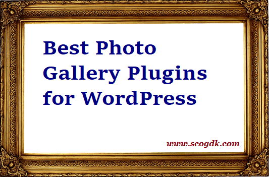 Best Photo Gallery Plugins