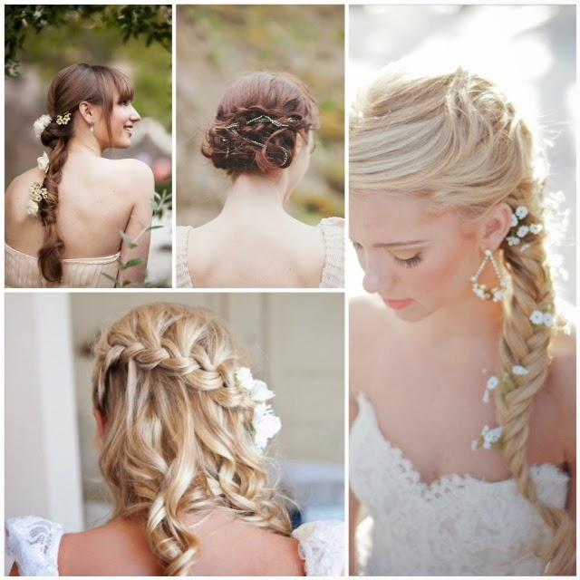 Penteados Para Noivas Com Tranças Penteados Para Casamento