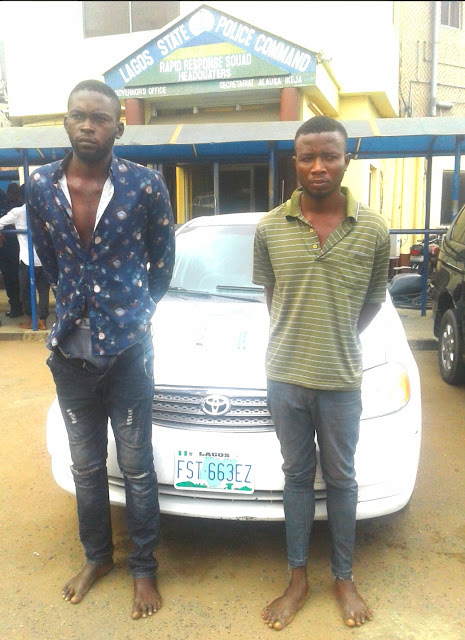 Robbers Kill Taxify Driver, sell car for N350K, Suspects narrate how they formed gang in prison