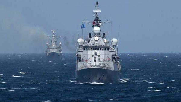 OTAN amplia presencia militar en costas sirias