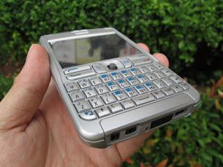 Hape Langka Nokia E62 Seken Mulus