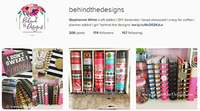 Behind the Designs DIY Craft and Planning Blog on Instagram