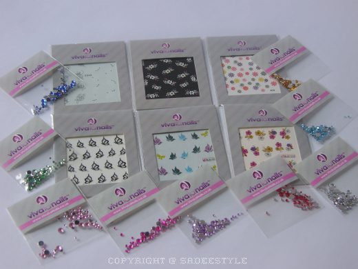 VivaLaNails.co.uk  Nail Art Stickers and Nail Art Stones
