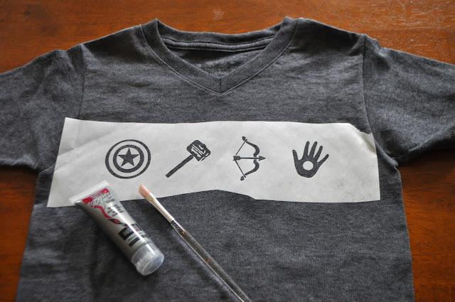 Diy Superhero Shirt All For The Boys