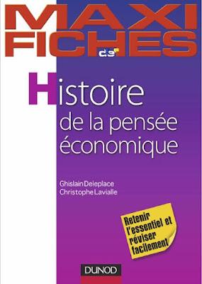 Télécharger Livre Gratuit Maxi fiches d'Histoire de la pensée économique pdf