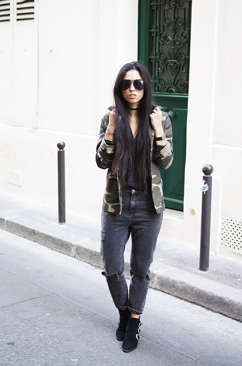 Elizabeth l Mom jeans trend outfit l Newlook Forever21 Asos l THEDEETSONE l http://thedeetsone.blogspot.fr