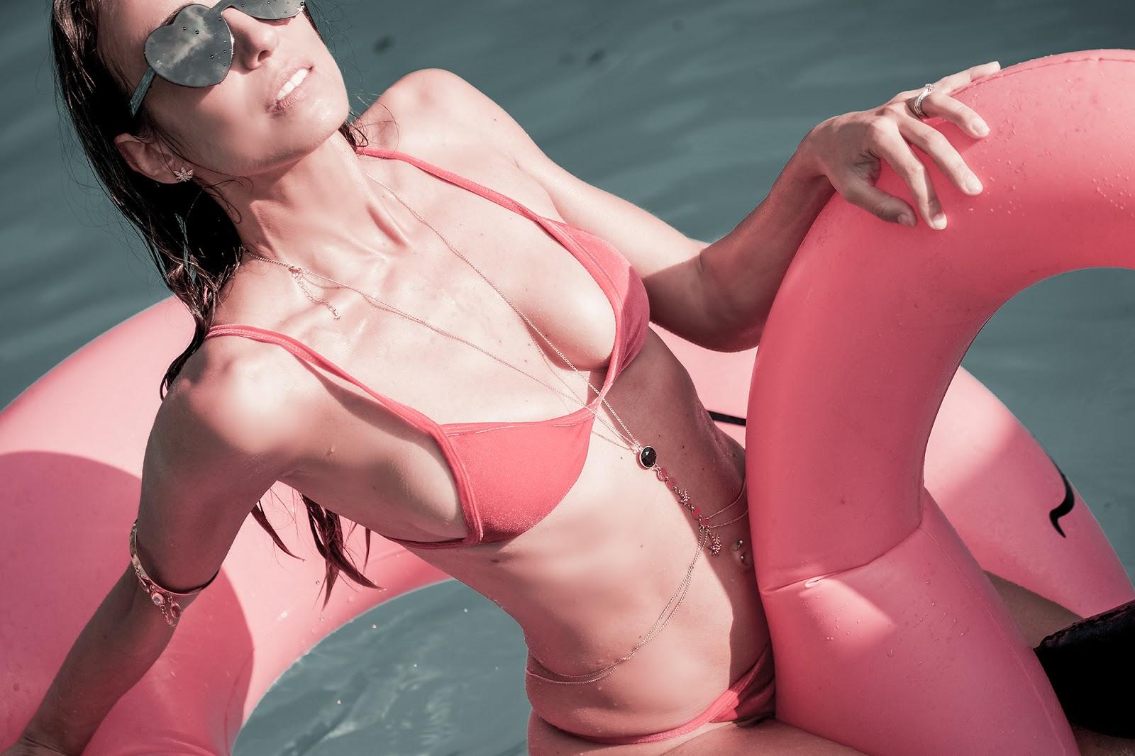 bikini blake dumont