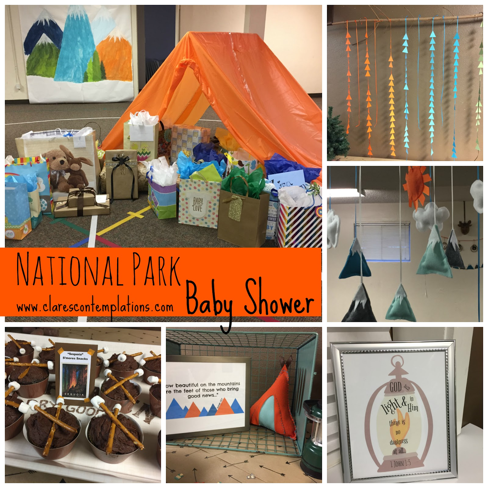 National Park Baby Shower
