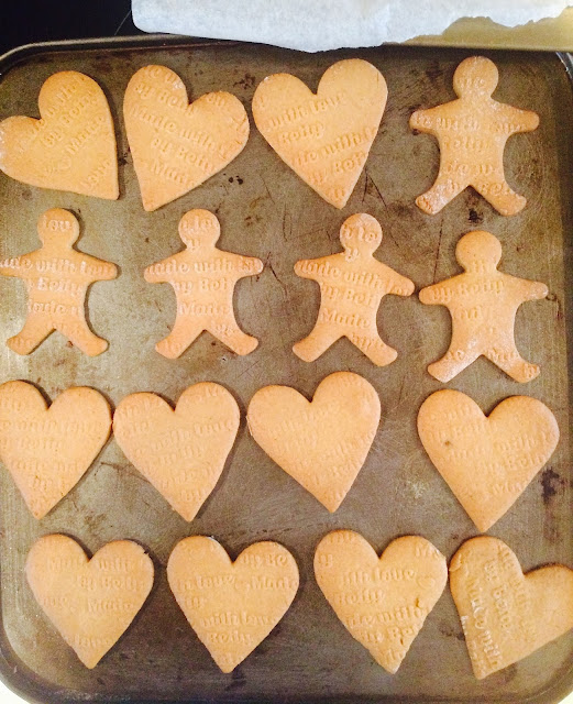 The Betty Stamp Lifestyle Blog Gingerbread Men Recipe