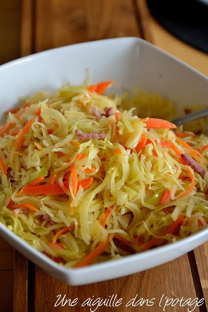 chou et carotte