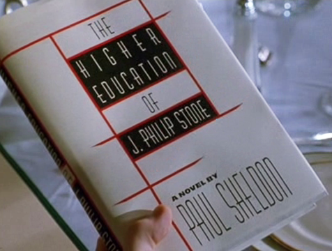The Higher Education of J. Philip Stone, el nuevo libro de Paul Sheldon, en Misery - Cine de Escritor