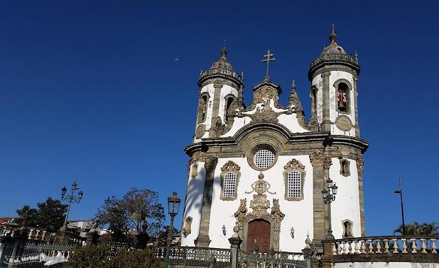 São João del-Rei, Caminho Velho, Estrada Real, Igreja de São Francisco de Assis