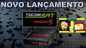 ATUALIZAÇÃO  TOCOMSAT COMBATE S HD  V1.12 - 31/08/2016