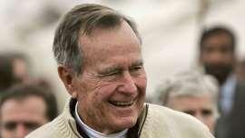 Bush 41 becomes longest-living president in U.S. history