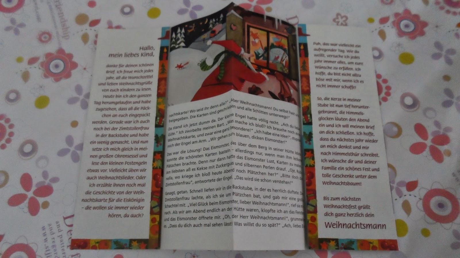 auch engel lesen briefe