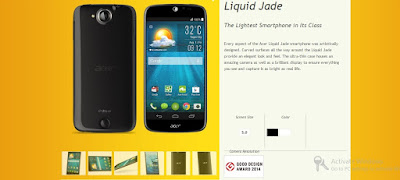 Acer Liquid Jade Full Phone Specification