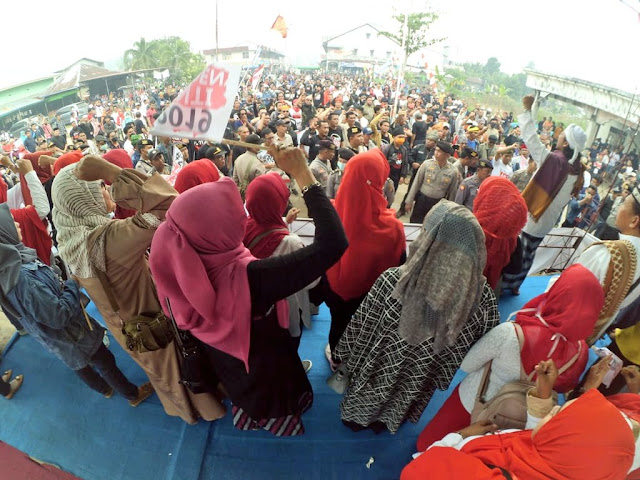Tanpa Kendala, Mardani Hadiri Deklarasi #2019GantiPresiden di Pontianak