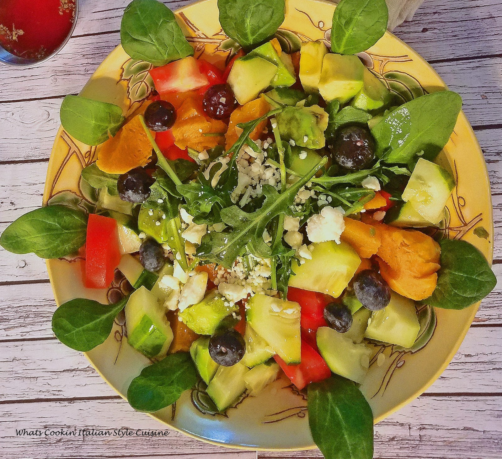 this is a healthy butternut squash salad. This diet salad has everything low calorie, keto friendly, vegan or vegetarian to keep your diet healthy and in control.
