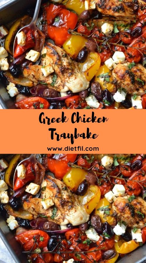 Greek Chicken Traybake #glutenfree #paleo #whole30 #dairyfree
