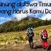 10 Gunung di Jawa Timur untuk Pendakian