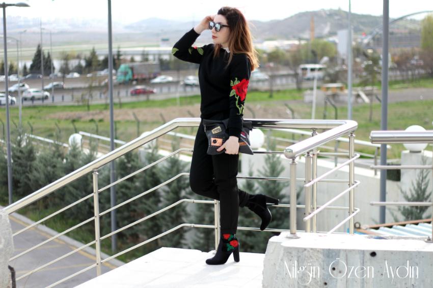 alışveriş-sammydress-amiclubwear-nakışlı botlar-moda blogu-fashion blog