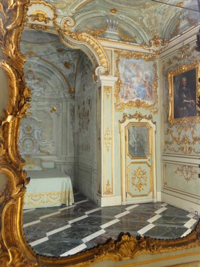 gênes genova via garibaldi strada nuove palazzi dei rolli palazzo rosso intérieur