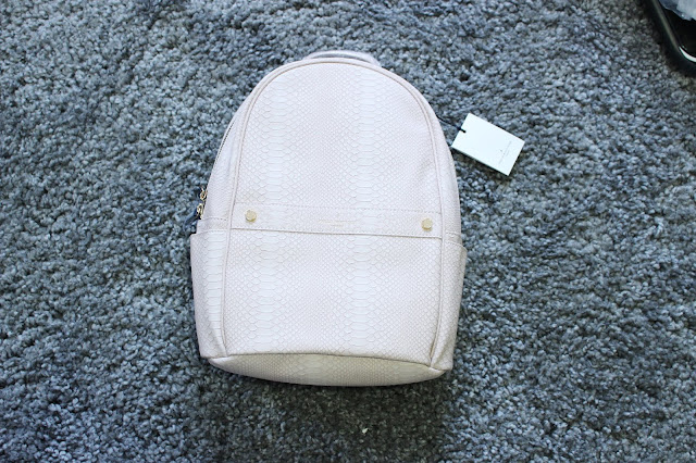 paul's boutique review, paul's boutique blog review, Rosa Backpack in Dusty Pink