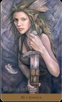 Tarot of the Hidden Realm Julia Jeffrey Justice