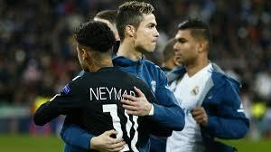 Ronaldo and Neymar