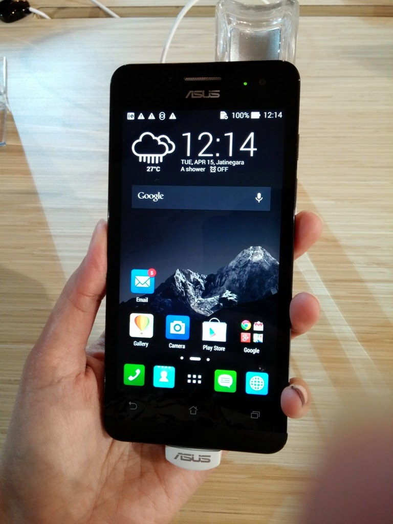 Gallery (Photo collection) ASUS Zenfone 5 Black Charcoal