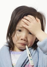 anak terserang batuk flu