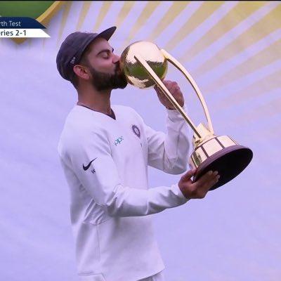 Indian cricket team won test series  in Australia
