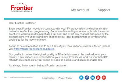 Frontier Letter