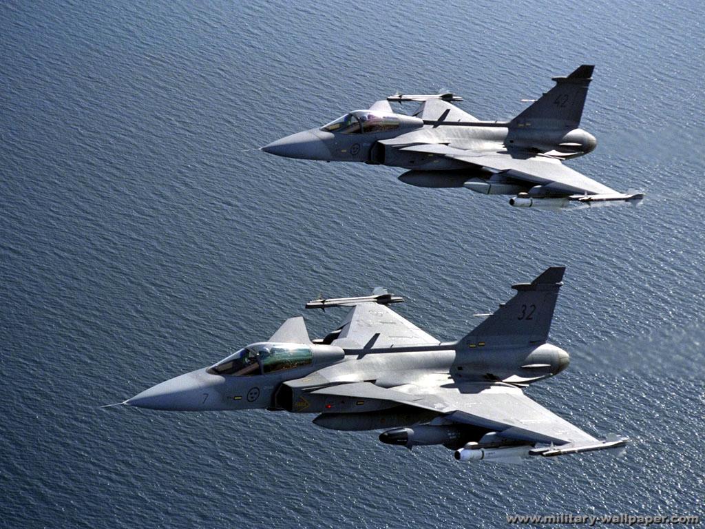 JAS39 Gripen Swedia