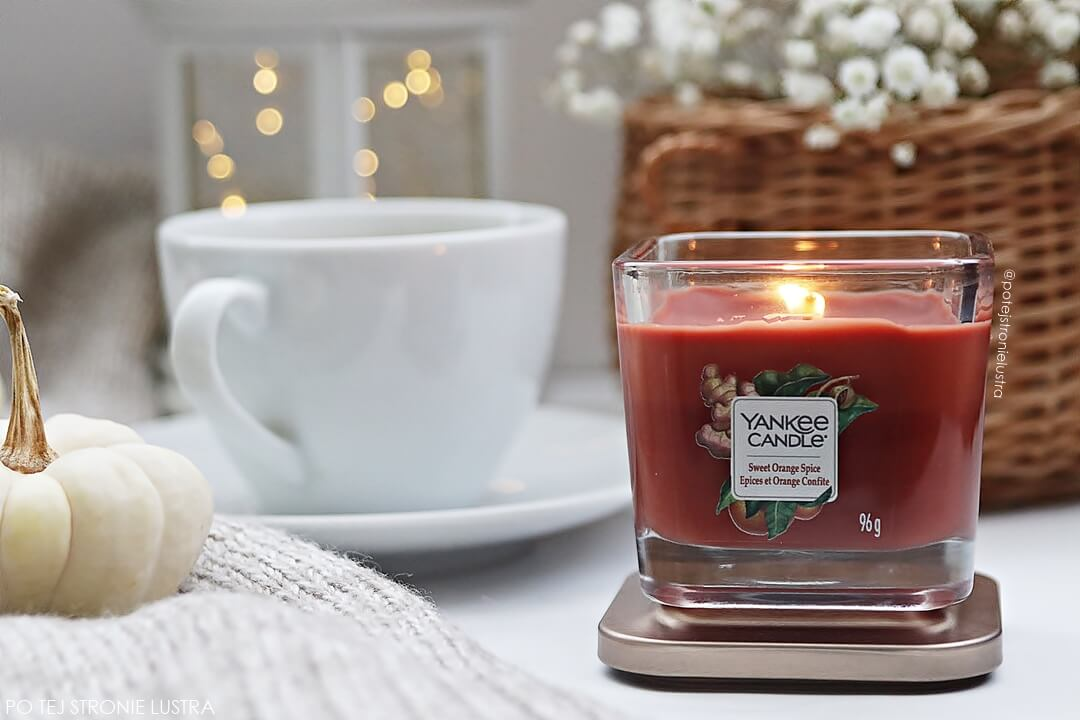 yankee candle sweet orange spice elevation collection
